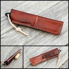 Custom knife sheath for Fallkniven WM1  #fallkniven #fällkniven #huntingknife #knife #tool #leatherwork  #leather #handmade #leathergoods #leathercraft  #custom #handssewn #handstitched #handcrafted #knifesheath #knifepouch  #knifecommunity #knifeporn #knives #bushcraft #forestlife #survival #survivalkit #bushlife #survivaltools #menaccessories #outdoor #edc #everydaycarry #sekulaleatherworks