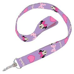 Disney Minnie Mouse Print Lanyards - Youth Party Favors