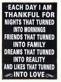 Be Thankful.....