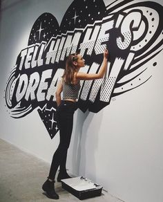 As the marketing/creative staffing agency in the US, we connect digital, interactive & marketing/advertising professionals to companies nationwide. Typography Letters, Lettering, Interactive Marketing, Jacky Winter, Graffiti Photography, Brand Campaign, Wall Drawing, Art Story, Street Art