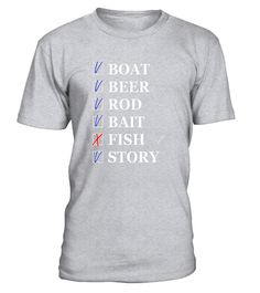 "# Funny Fishing T-Shirt Boat Beer Rod Bait Story & NO Fish Men .  Special Offer, not available in shops      Comes in a variety of styles and colours      Buy yours now before it is too late!      Secured payment via Visa / Mastercard / Amex / PayPal      How to place an order            Choose the model from the drop-down menu      Click on ""Buy it now""      Choose the size and the quantity      Add your delivery address and bank details      And that's it!      Tags: Hilarious Fishing…"