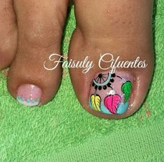 Toe Nail Art, Toe Nails, Nail Polish Designs, Nail Art Designs, Purple And Pink Nails, Cute Pedicures, Magic Nails, Minimalist Nails, Beautiful Nail Designs