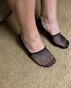 Sheer Socks, No Show Socks, Heeled Mules, Heels, Pretty, Fashion, Heel, Moda, Fashion Styles