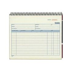 Adams #spiral #invoice book, 8 1/2 x 7 1/4 #inches, 2-part, carbonless,,  View more on the LINK: 	http://www.zeppy.io/product/gb/2/311325348013/