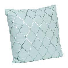 Metallic Moroccan Sequin Pillow