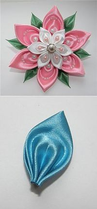 Flor turquesa