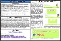 "Ozone Layer Radio Ad! Get students to make a Radio Ad with the online voice recorder, ""Vocaroo.""  Find it at http://vocaroo.com"
