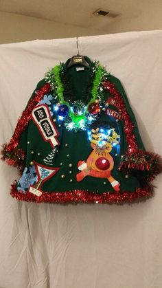 Pin by Danielle Winton on My Mom's Hand-Made Ugly Christmas ...