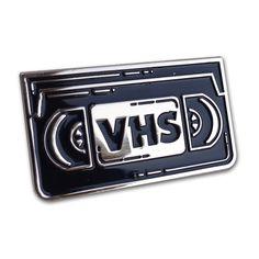 """Night Watch """"VHS"""" Lapel Pin #Pin #VHS"""