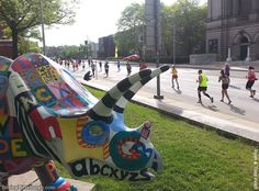 Pittsburgh Marathon 2013 in Oakland by Ryan Allan