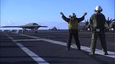 X-47B robotic drone aircraft completes deck trials aboard nuclear aircraft carrier