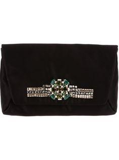 Embellished Clutch Bag by Lanvin