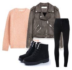 Untitled #4 by fodornikolett on Polyvore featuring polyvore, fashion, style, Vanessa Bruno, J Brand and clothing