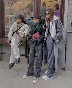 Behind The Scenes By lessisworefemales Fashion 2020, Look Fashion, Urban Fashion, Winter Fashion, High Fashion, Winter Fits, Winter Looks, Look Street Style, Street Style Women