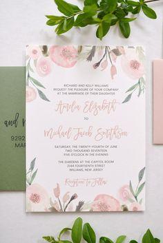 Pink Floral Wedding