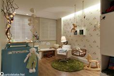quarto de bebê menino bichinhos de pelúcia