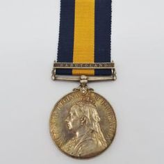 Cape of Good Hope General Service Medal (Clasp - Basutoland) - Lieut. P.M. Kruuse, Cape Mounted Yeomanry | Cultman Collectables