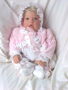 Lee Middleton Retired doll...one of the last dolls I bought for my mother, it now sits in my guest bedroom.