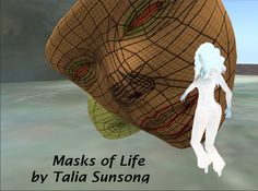 """Masks of Life"" still from animation by Talia Sunsong. Partly inspired by Fritz Lang's ""Metropolis"""