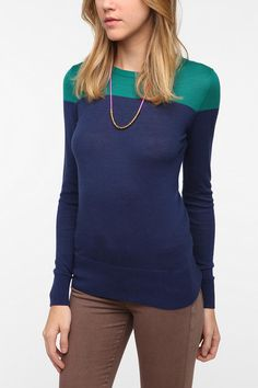 Coincidence & Chance Jane Colorblock Pullover Sweater