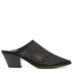 Carlos BY Carlos Santana Women's Penny Mule Shoes (Black Fabric)