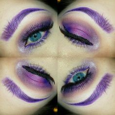 Should your brows match your hair color?  Well if mine need to here is what they might look like!  Yay or Nay?  #Moodstruckbeauty #empower #inspire #uplift #Yflourish2017 #whoiam #whatibelieve #beauty #whimsy #purple #passionate #authentic #entrepreneur #grateful #purplehair #purplebrows #whatdoyouthink