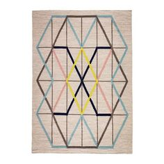 IKEA PS 2014 Rug, flatwoven IKEA The rug is made of pure new wool so it's naturally soil-repellent and very durable.