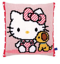 Front Cushion: Hello Kitty