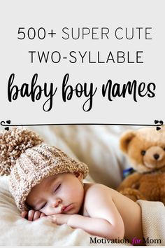 This list has over 500 ideas for two syllable boy names that are short and sweet and easy to fall in love with. Some of these are common baby boy names, and some of these are unique baby boy names. Whether you are looking for first names or middle names for your baby boy, this list will give you plenty of ideas for baby boy names! Get Baby, Uncommon Baby Boy Names, Unique Baby Boy Names, Baby Sleep Routine, Baby Sleep Schedule, Getting Baby To Sleep, Baby Care Tips, Baby Tips, Tips