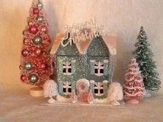 Glitter house#Putz#