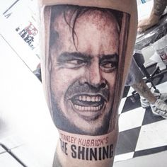 The Shining  #tattoosmarcao #marcaotattoo #thesining #theshiningtattoo #movietattoo #jacknicholson #jacknicholsontattoo #oiluminado #oiluminadotattoo