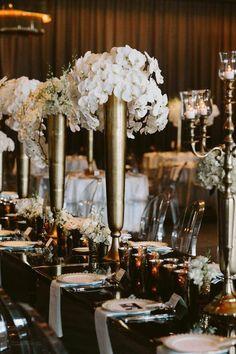 Gatsby inspired wedding design by The WHITT Experience |photo by Brandon Scott Photography