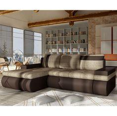 Corner Sofa Bed OSLO MINI Storage Container Sleep Function New | eBay