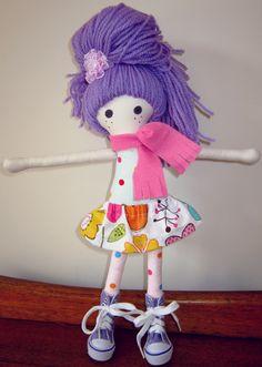Handmade doll $85