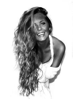 i wish i would fall asleep and wake up with my hair that long .