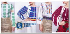 Vintage Romanian Blouses Collection by Romanian Label Romania, Kimono Top, Cover Up, Label, Blouses, Long Sleeve, Sleeves, Handmade, Vintage
