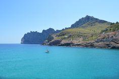 Blue sea in Majorca