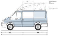 Ford Transit Camper, Vw Bus, Camper Van, Vans, Vehicles, Recreational Vehicles, Travel Trailers, Van, Car