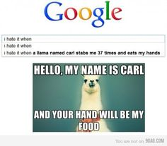 Hello, my name is Carl...