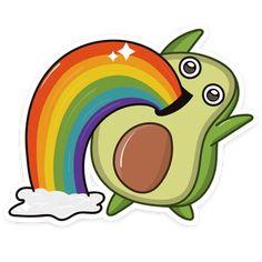 Cute Emoji Wallpaper, Funny Iphone Wallpaper, Cute Cartoon Wallpapers, Cute Animal Drawings Kawaii, Cute Cartoon Drawings, Cute Avocado, Cute Laptop Stickers, Kawaii Doodles, Illustration Art Drawing