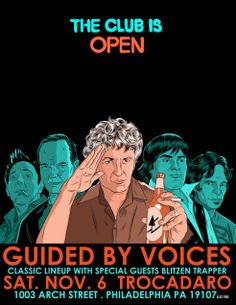 Guided By Voices poster: Alex Fine Illustration: November 2010