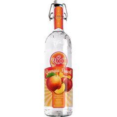 360 Vodka, Peach Vodka, Just Peachy, Peaches, 21st, Georgia, Awards, Alcohol, Sweet