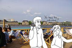 Week end à Berlin - Piscine, apéro et electro au bord de la Spree
