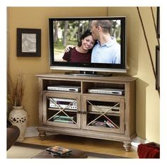 "Riverside Furniture Coventry 50"" Corner TV Stand (approved)"