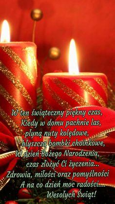 Kartka świąteczna 🎅🎅🎅🎅🎅🎅🎅🎅🎅🎅 Christmas Card Messages, Christmas Cards, Christmas Time, Merry Christmas, Christmas Flowers, Christmas Wreaths, Holly Wreath, Christmas Arrangements, Christmas Pictures