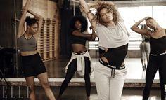 Beyoncé  explica  el  mensaje  detrás deIvy Park ,  cómo  evita la presión  exterior  y  más en una sincera  entrevista para...