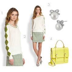 FASH365 - Wear To Live:   These Tory Burch separates combine to make the p...