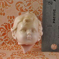 Vintage German Porcelain Doll Head by oscarcrow on Etsy, $8.00