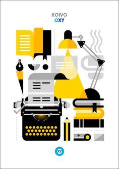 KOIVO / Corporate Illustration / @ : oxy-illustrations@orange.fr