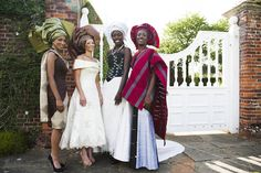 The UK's Brightest African Wedding Talent present an African Vintage Bridal Shoot African American Clothing, American Clothing Brands, African American Weddings, African Weddings, African Girl, African Women, African Dress, African Fashion, African Theme